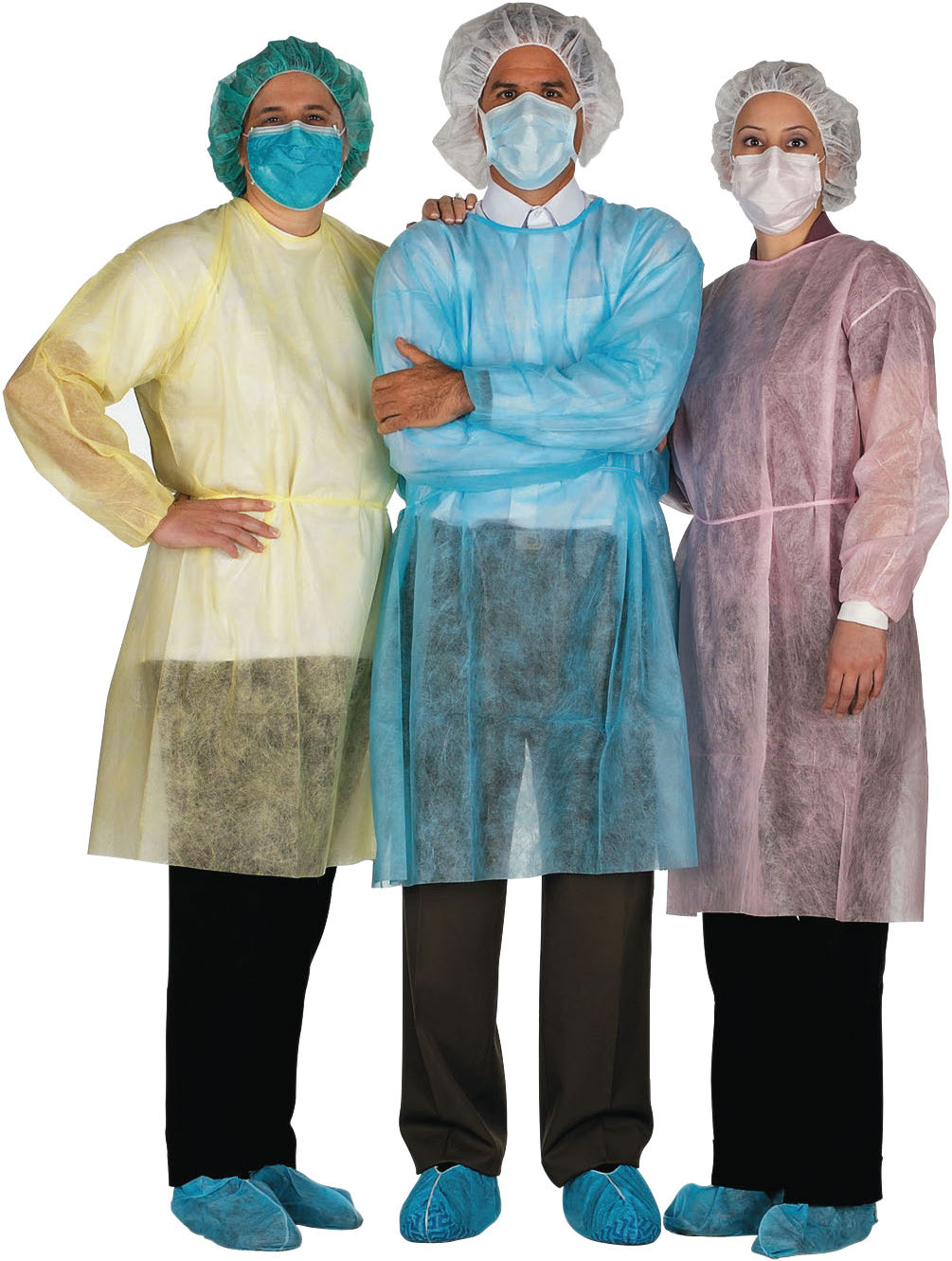 UltidentBrand Disposable Gowns - Isolation Gowns - Apparel, Masks ...