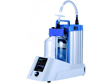 Vacuubrand BVC Basic G Fluid Aspiration System with 2 liters Borosilicate Glass Collection Vessel