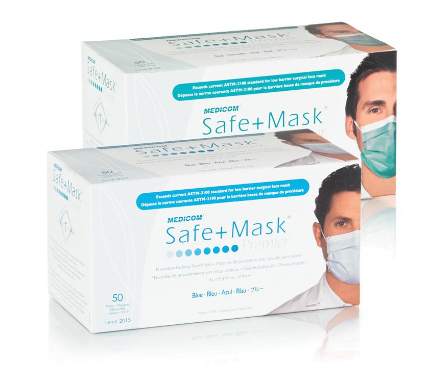 And Ear-loop Masks - Medicom® Premier Mask Apparel Masks