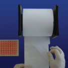 PlateSeal™ Film, QuickApply™ Dispenser with Pre-Scored Sheets on a Roll
