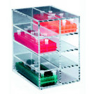 Acrylic Storage Rack Holder